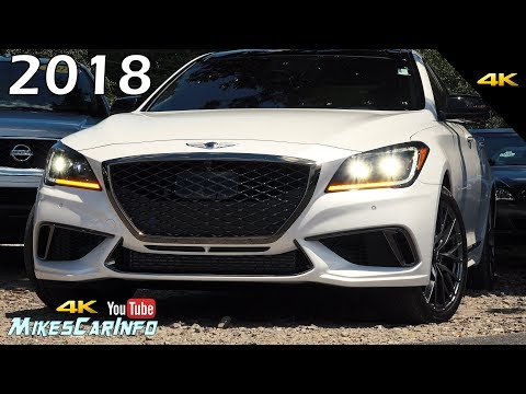 2018 Genesis G80 3.3t Sport Twin Turbo - Ultimate In-Depth Look in 4K