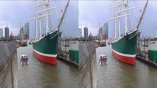3D video - Hamburg Habor - YT3D SBS