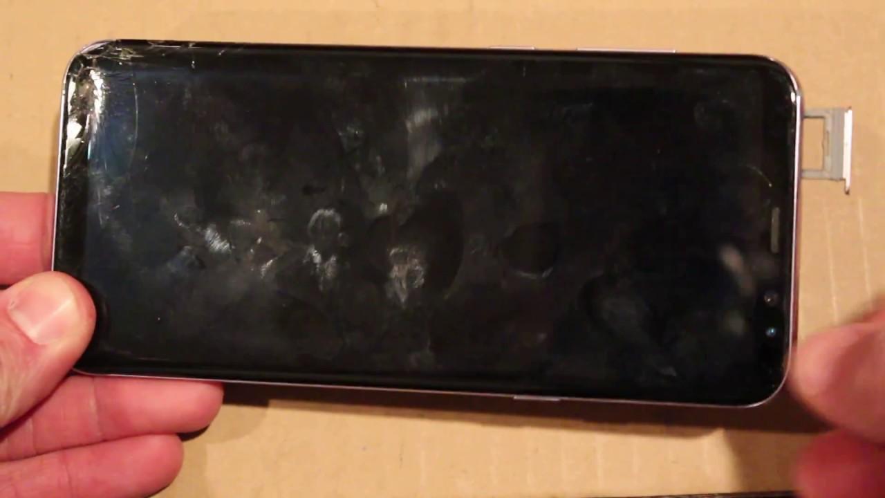 Samsung Galaxy S8 Water Damage Sticker Indicator Locations