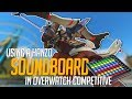 Using a Hanzo Soundboard in Overwatch Competitive! (Overwatch Trolling)