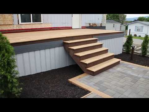 Exterior Stairs And Some Trim Work - Mobile Home Renovation : E028 / BC Renovation Magazine