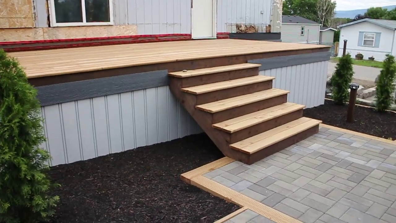 Exterior Stairs And Some Trim Work
