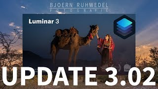 Luminar 3 - Das Update 3.02 ist für die Skylum Software erschienen