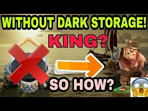 BARBARIAN KING WITHOUT DARK ELIXIR STORAGE HOW? | LET'S SEE | CORRECT REVELATION