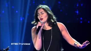 #MBCTheVoice  -مرحلة الصوت وبس - Fallin' - كريستين سعيد