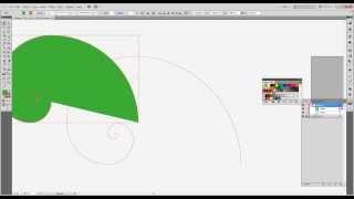 Adobe illustrator ελληνικά - Spiral Tool  Χρυσή Τομή