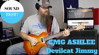 CMG Guitars & Devilcat Amps Sound Test