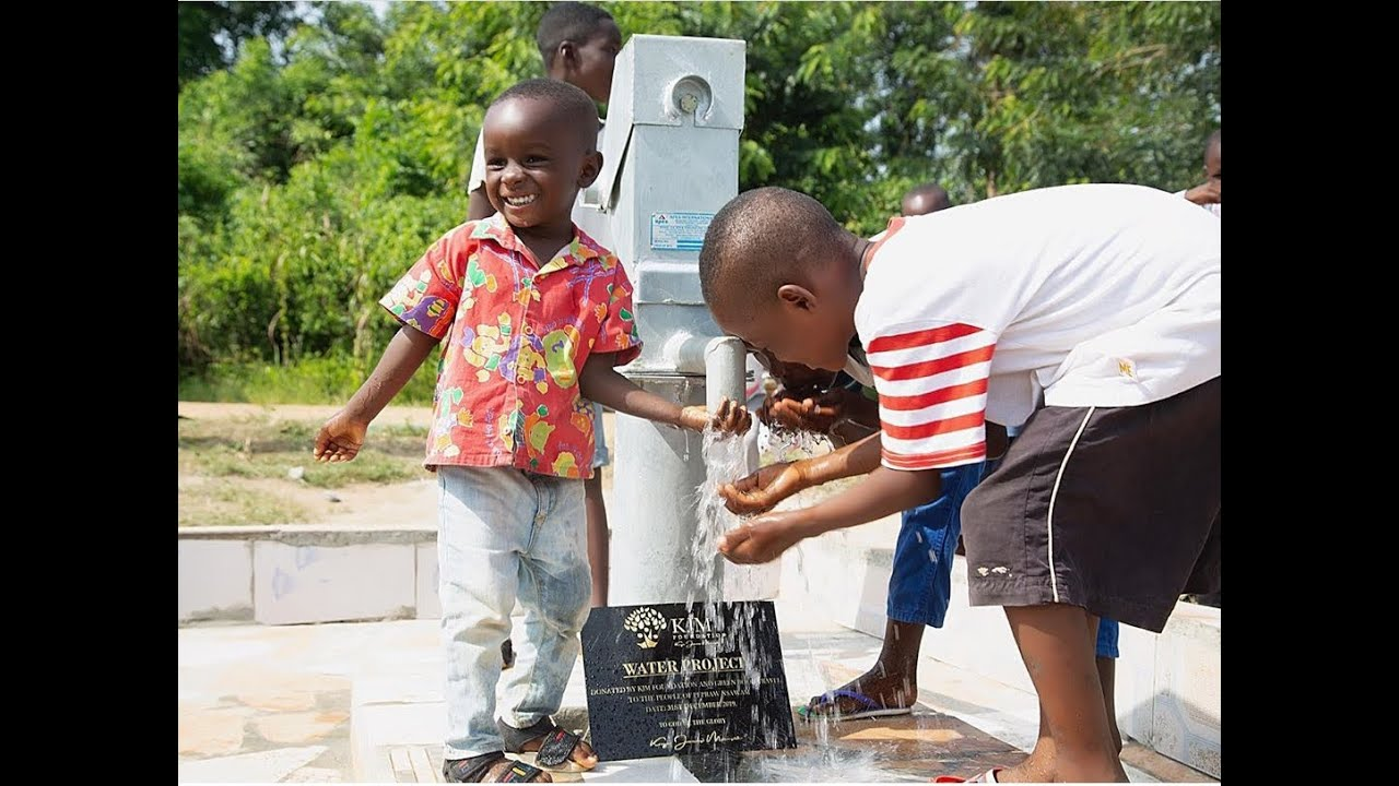 Water Borehole build for Clean Water for Community in Ghana by Green Book Travel & KJM foundation
