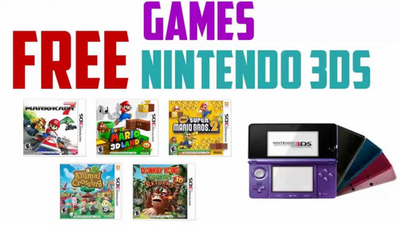 How To Get Free Nintendo 3DS Games From EShop