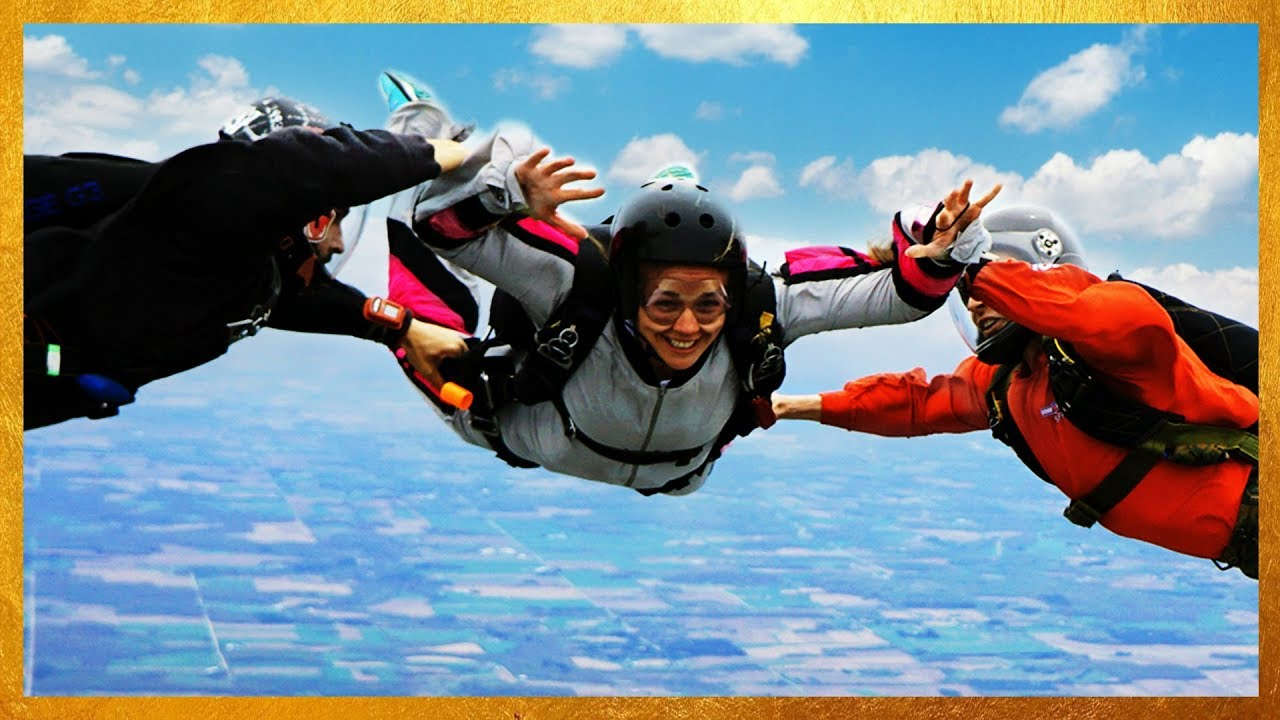 First Time Skydiving Aff License Fear Youtube