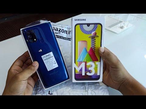 Samsung M31s Unboxing & Camera Test   Mirage Blue Colour