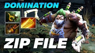 Zipfile Pudge DOMINATION | Dota 2 Pro Gameplay