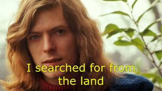 David Bowie - The Man Who Sold The World (with lyrics)