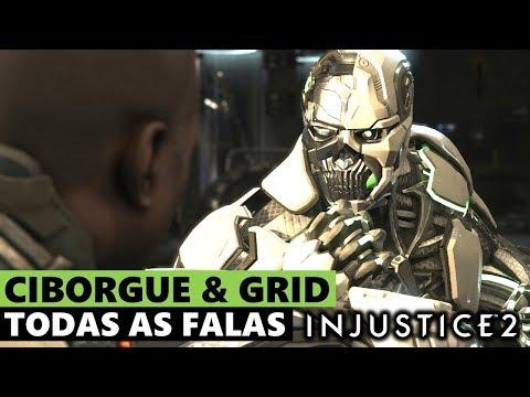 INJUSTICE 2: TODAS AS FALAS ENTRE CIBORGUE & GRID