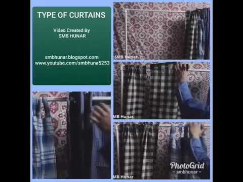 How To Make Different Types Of Curtains At Home