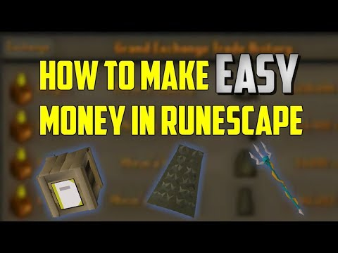 OSRS - How To Make Money EASY In Runescape! (Crafting Sets)