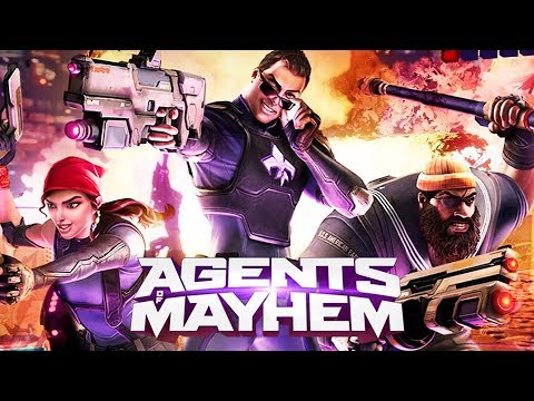 AGENTS OF MAYHEM All Cutscenes (PS4 PRO) Game Movie 1080p 60FPS