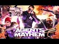 AGENTS OF MAYHEM All Cutscenes PS4 PRO Game Movie 1080p 60FPS mp3