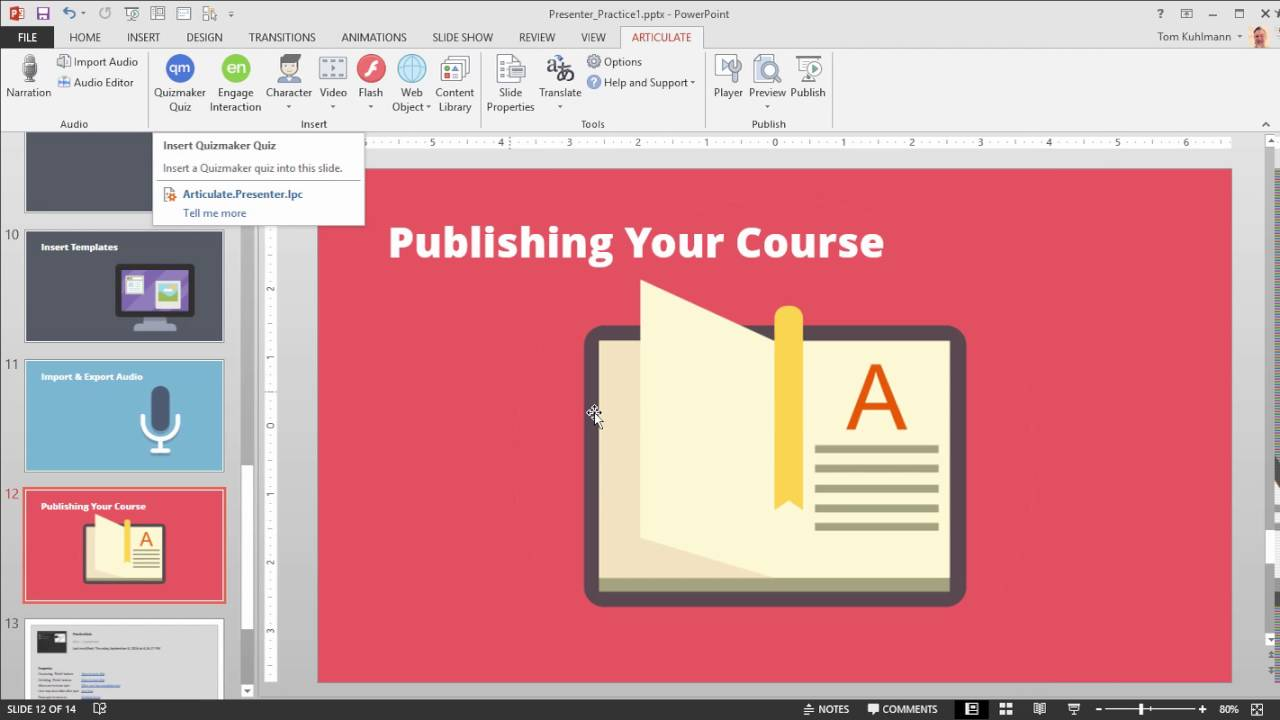 Articulate 360 tutorial how to preview publish your online course articulate 360 tutorial how to preview publish your online course in presenter 360 maxwellsz
