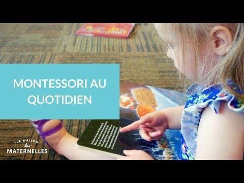 Montessori au quotidien - La Maison des Maternelles #LMDM