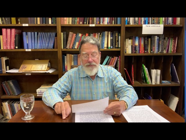 Bible Study with Bill Stahl - Week 22 The Golden Calf