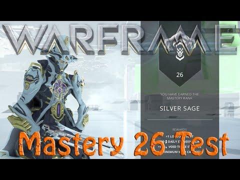 Warframe Mastery 26 Test thumbnail