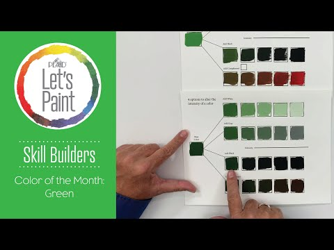 Skill Builder: Color Theory In Shades Of Green