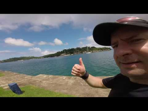 Vanuatu Port Vila Harbour & Iririki island views.