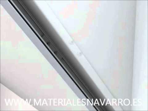 Instalacion mosquiteras youtube - Mosquiteras para velux ...