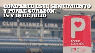 Alianza Lima se suma a la campaña