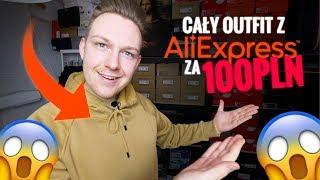OUTFIT Z ALIEXPRESS ZA 100 PLN?! ALIEXPRESS STREETWEAR OUTFIT CHALLENGE