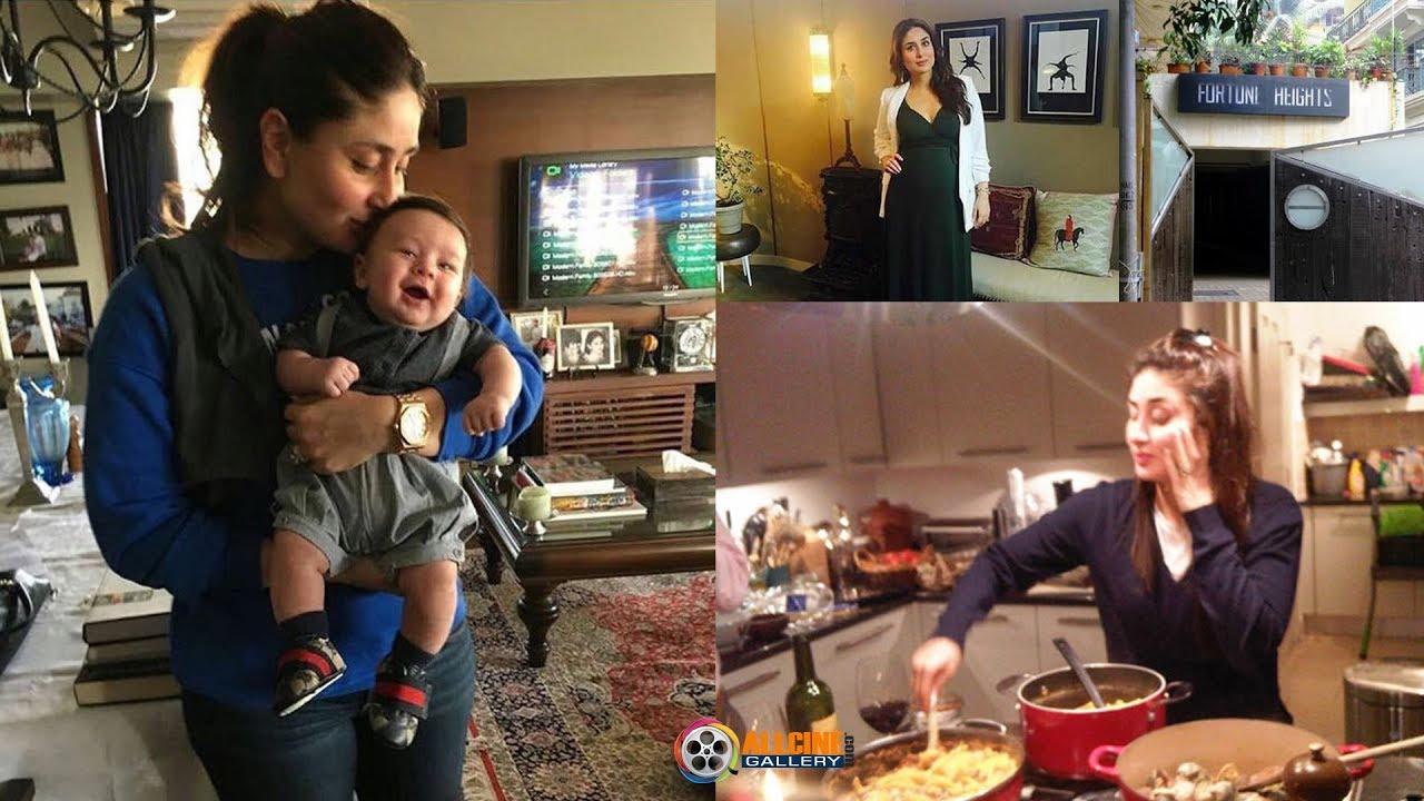 Kareena Kapoor and Saif Ali Khan House Inside & Outside ...