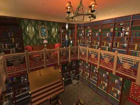 Mysterious Bookcase In The Sims