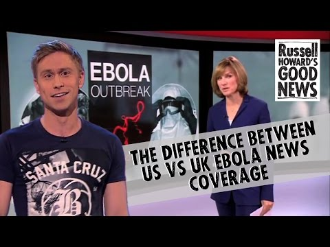 The difference between US vs UK Ebola news coverage