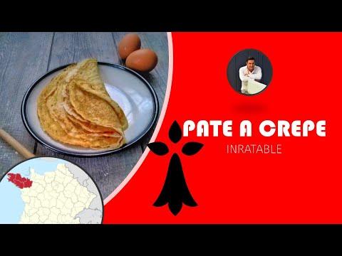 délicieuse-pâte-a-crêpe-sans-grumeau┃recette-du-chef-cyril-rouquet-prévost