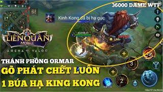 [Kgame 69] Thánh phồng tôm ORMAR 1 búa hạ gục Kinh Kong Liên quân mobile | One Hit Kill King Kong