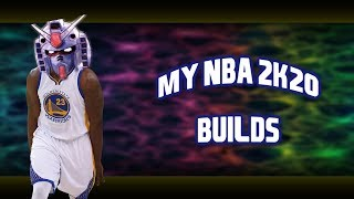 My 2 Way Playmaker and Paint Beast Builds (NBA 2K20)