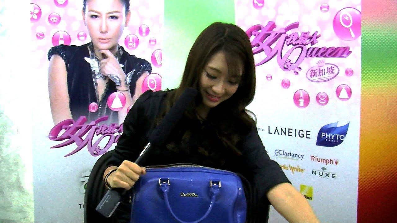 143534ca5a3 StarHub TV - Lady First Singapore Season 2 - What's Inside Celyn's Bag?