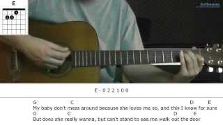 How to play Hey Ya with Outkast (Guitar lesson) Mp3