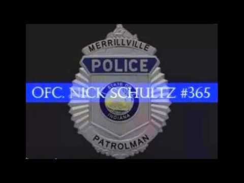 Merrillville Police Officer Nicholas Schultz 10 42