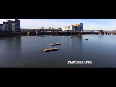 Visit Edinburgh, Scotland - Aerial 360° / Granton Harbour by