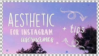 Aesthetic Usernames For Your Cool Aesthetic Social Profile Fun Flares This intelligent username generator lets you create hundreds of personalized name ideas. aesthetic usernames for your cool