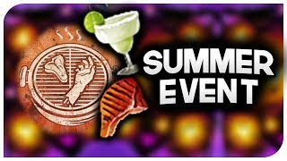 Dead By Daylight - New Summer Event! - DBD Scorching Summer BBQ Event! - New Cosmetics For Free!