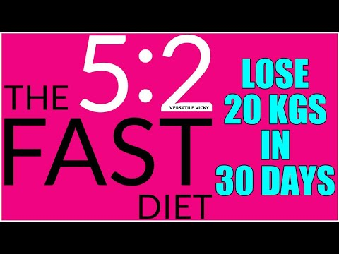 5 2 Diet | Lose 20Kg in 1 Month | Intermittent Fasting For Weight Loss