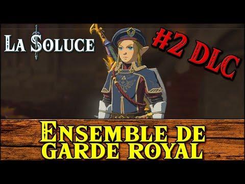 ENSEMBLE GARDE ROYAL - ROYAL GUARD SET - DLC #2 - ZELDA BOTW