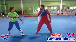 Campamento de entrenamiento de Taekwondo para Cadetes y Juveniles