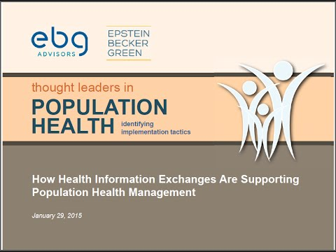 How Health Information Exchanges Are Supporting Population H