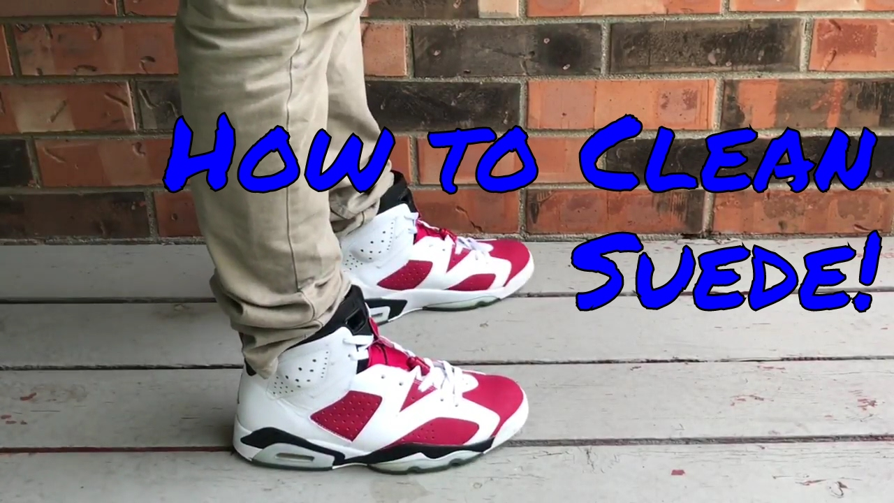 How To Clean Suede Nubuck Shoes Works On Nikes Jordans Vans Etc
