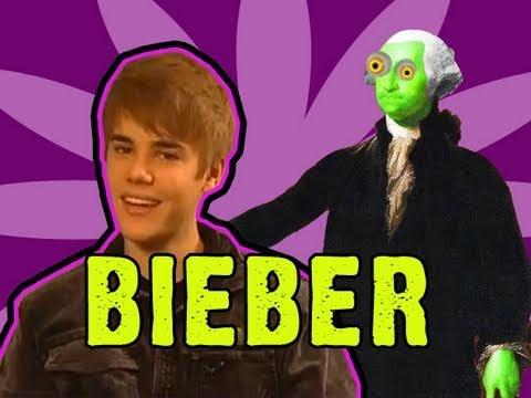 Zombie George Washington: The Justin Bieber Interview