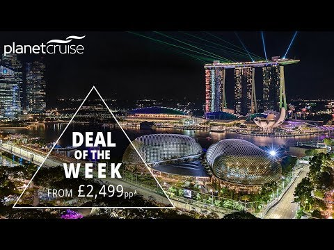 TRAVEL to SINGAPORE, Watch F1 LIVE and Cruise with Star Clippers | Planet Cruise Deal of the Week